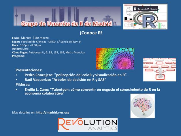 Reunion Grupo Usuarios de R de Madrid - 3-Marzo - V1