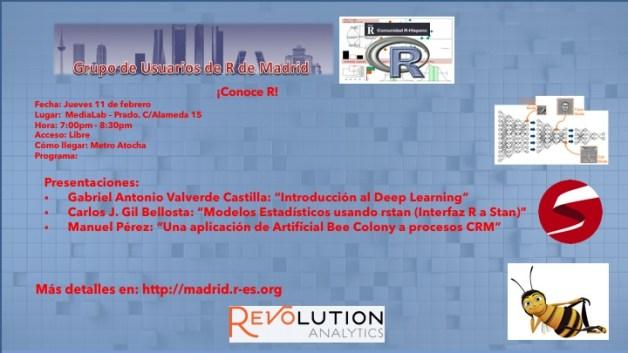 Reunion Grupo Usuarios de R de Madrid - 2016-Feb-11 - V2.0
