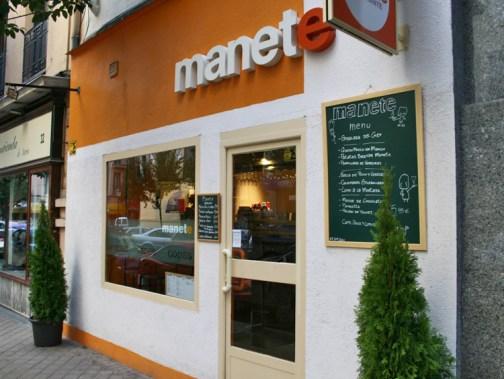 Manete, en la calle Lope de Rueda de Madrid