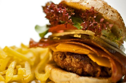 Hamburguesa de Home Burger