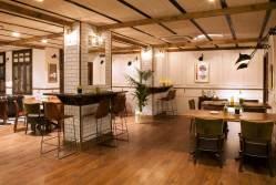 Zona de cafetería del Ateneo de Madrid