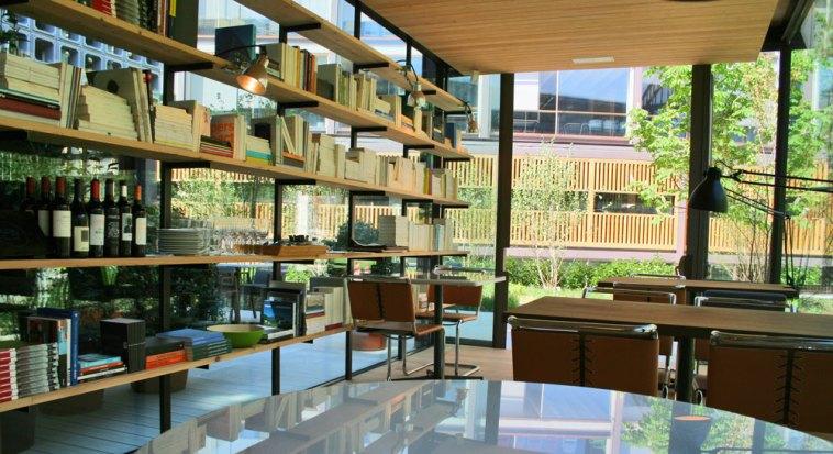 Comedor y Ciblioteca de Bosco de Lobos