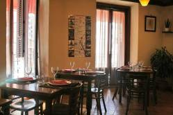 Comedor de Soy Kitchen en plaza de los Mostenses de Madrid