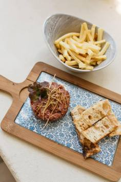 Steak Tartar en La Sabina de Rumbo Aravaca