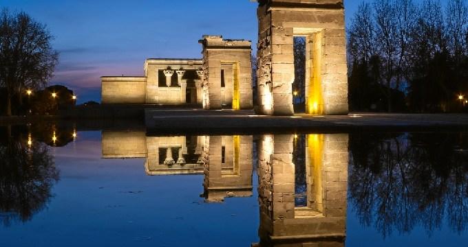 El mirador del Templo de Debod ofrece una jornada de observación lunar y planetaria