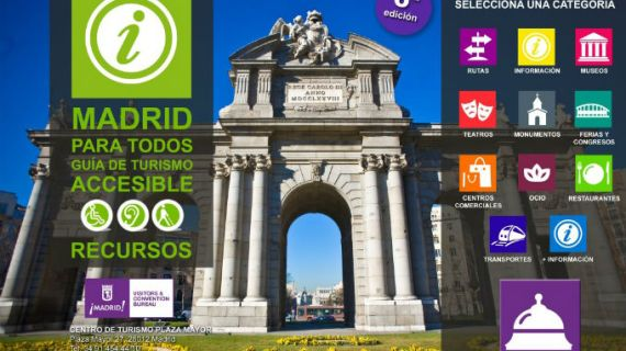 Madrid presenta la séptima edición de la guía de turismo accesible