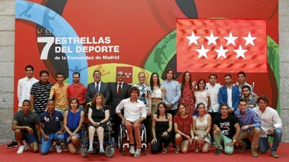 La capital recibe a los madrileños que irán a los Juegos Olímpicos y Paralímpicos de Río
