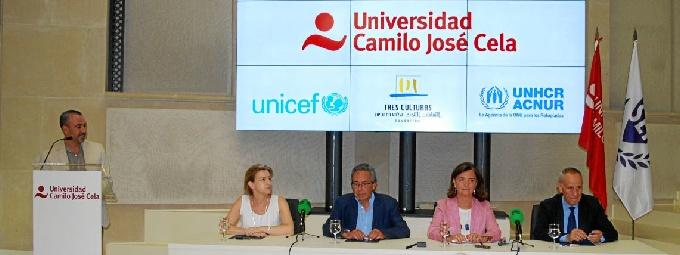 La UCJC, primera universidad española en acoger refugiados
