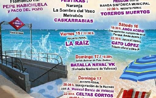 Puente de Vallecas celebra sus populares Fiestas del Carmen