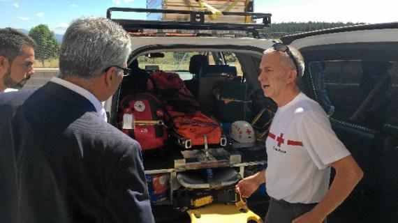 Madrid colabora con Cruz Roja en la atención a personas en riesgo de exclusión