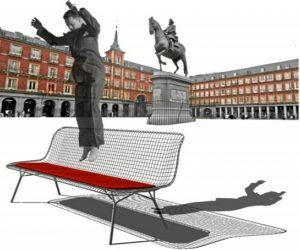 Propuesta de banco a través de un modelo similar a las camas elásticas.
