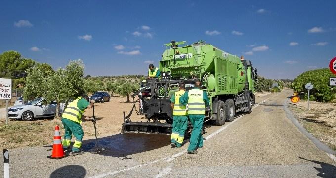 Mejorada la seguridad de la M-229 entre las localidades de Orusco y Tajuña