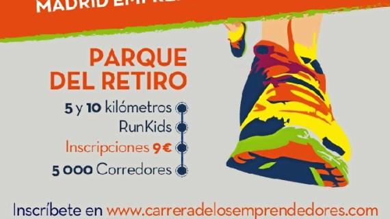 Nueva edición de la 'Carrera Solidaria Madrid Emprendedores'