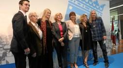 Rosendo, Carmen Machi, Javier Fernández y FACIAM, Medallas de Oro de Madrid