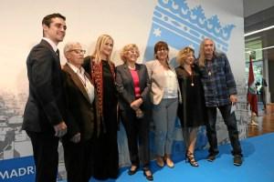 Rosendo, Carmen Machi, Javier Fernández y FACIAM, Medallas de Oro de Madrid.