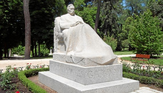 Irene Escolar y Alberto San Juan ponen voz a la estatua de Galdós