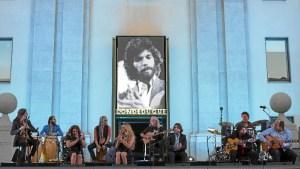 Un momento del concierto homenaje a Camarón.