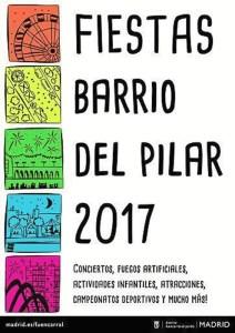 Fiestas Barrio del Pilar, 2017.