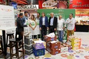 """El mercado municipal de La Paz colabora con el proyecto """"Buen@provecho-La Comida no tiene desperdicio"""""""