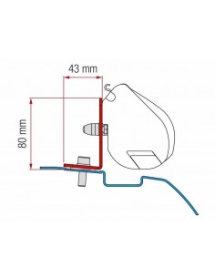 Toldo Fiamma F35 Pro Furgoneta Camper Caravana Manual