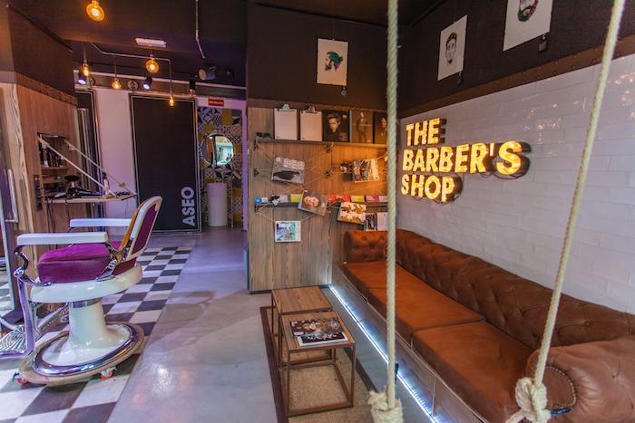 Barberas modernas en Madrid