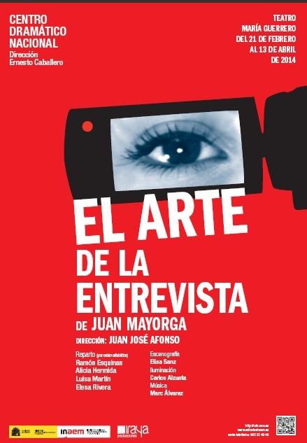 EL ARTE DE LA ENTREVISTA de Juan Mayorga
