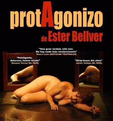 protAgonizo de Ester Bellver en MÍNIMA espacio escénico