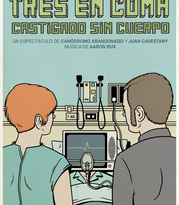 TRES EN COMA, de Juan Cavestany en el Teatro del Barrio