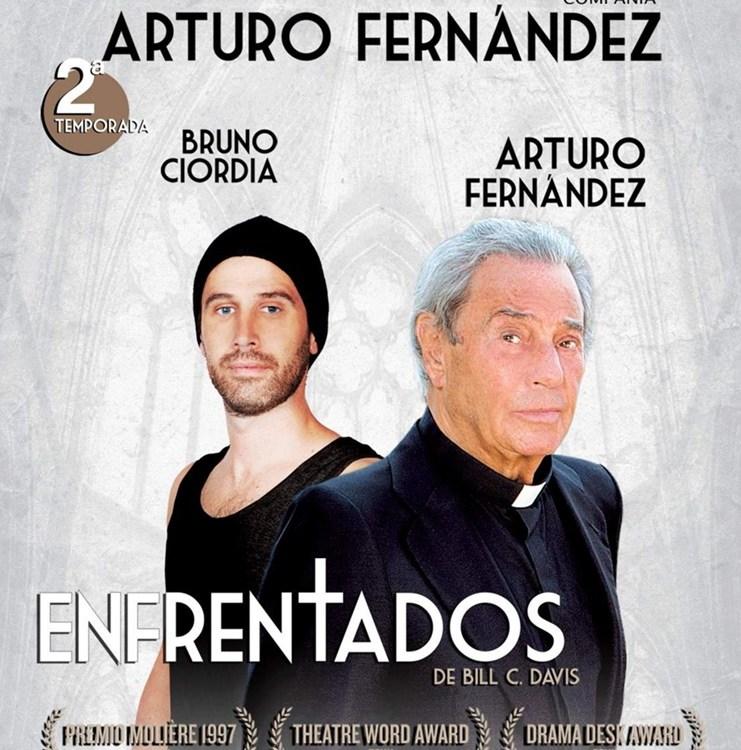 ENFRENTADOS protagonizada por Arturo Fernández
