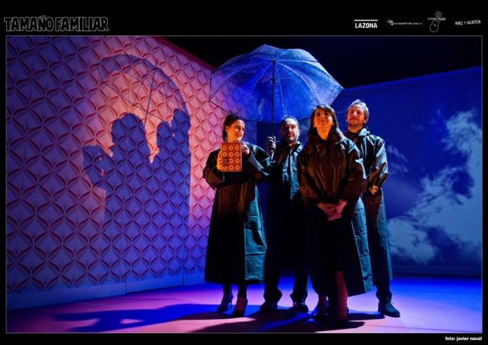 TAMAÑO FAMILIAR en el Teatro Marquina