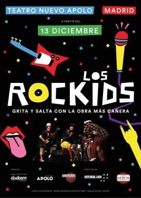 LOS ROCKIDS, TEATRO Nuevo Apolo