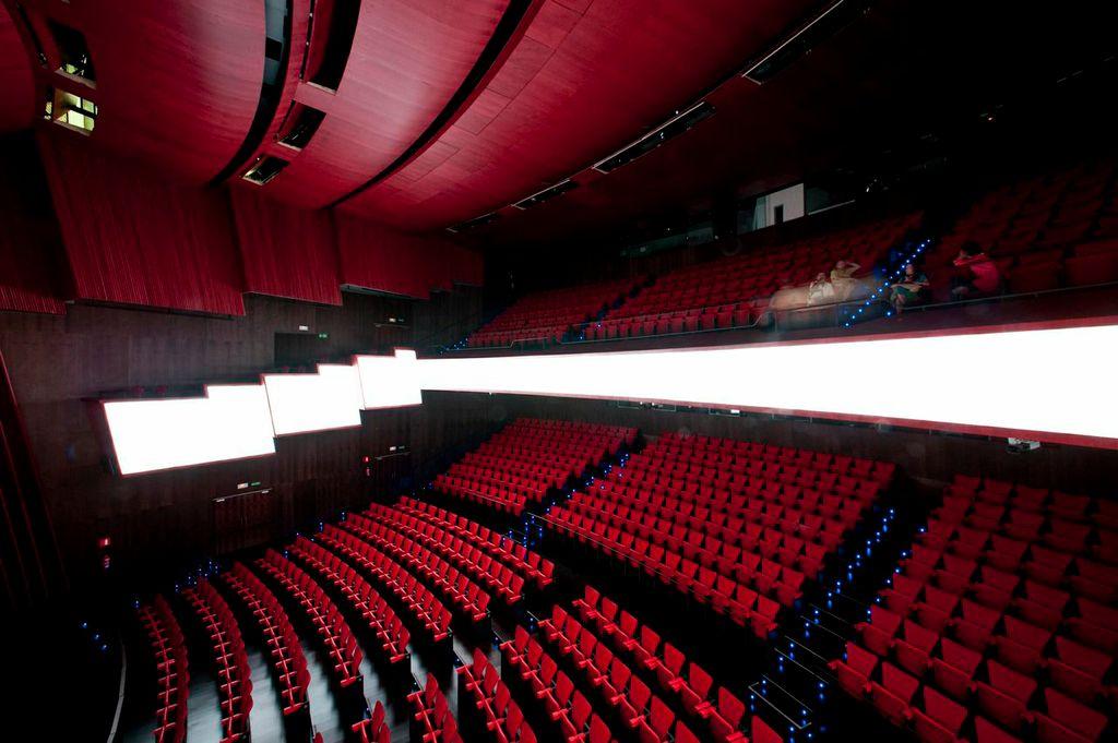 Sala Roja de los Teatros del Canal