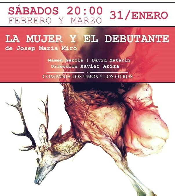 LA MUJER Y EL DEBUTANTE de Josep Maria Miró