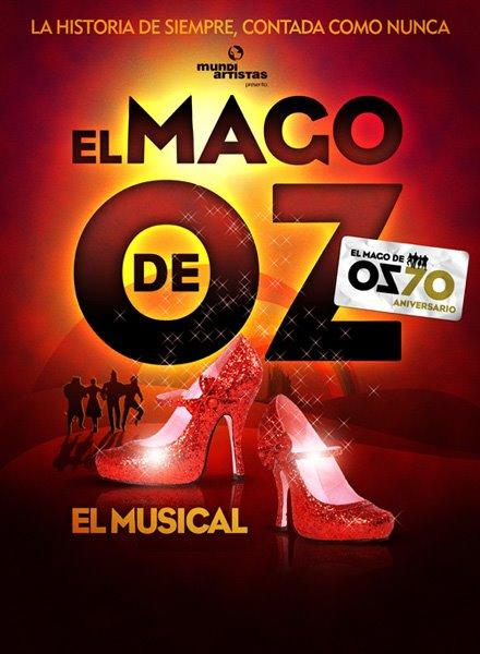 EL MAGO DE OZ EL MUSICAL en el Teatro Maravillas