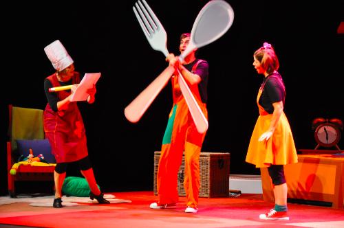 El teatro Sanpol incluye por primera vez en su oferta teatro bilingüe en inglés para el público familiar