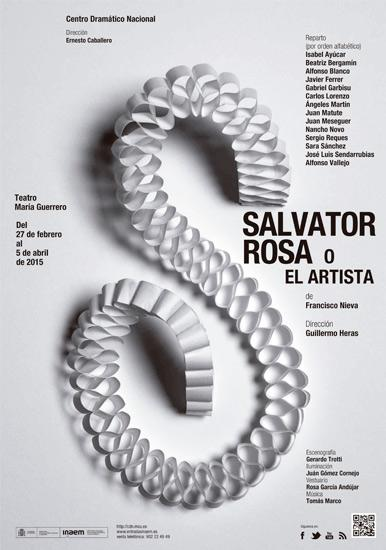 SALVATOR ROSA O EL ARTISTA de Francisco Nieva en el CDN