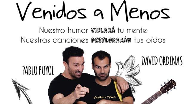VENIDOS A MENOS, PABLO PUYOL Y DAVID ORDINAS