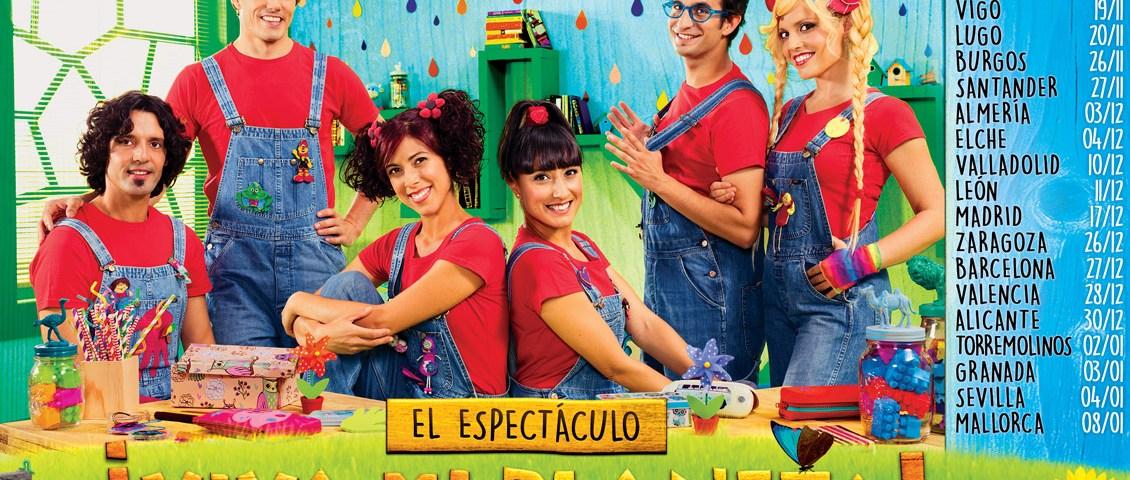 CantaJuego- Espectáculo ¡Viva Mi Planeta!, Palacio Municipal de Congresos