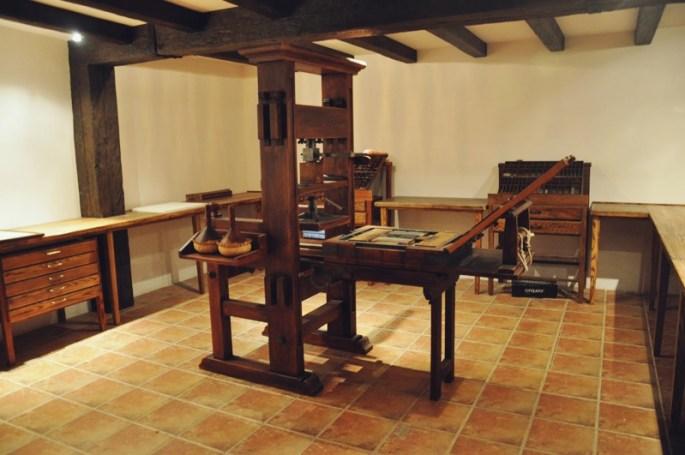 La imprenta de Juan de la Cuesta