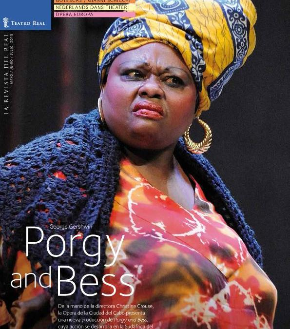 PORGY AND BESS de George Gershwin en el Teatro Real