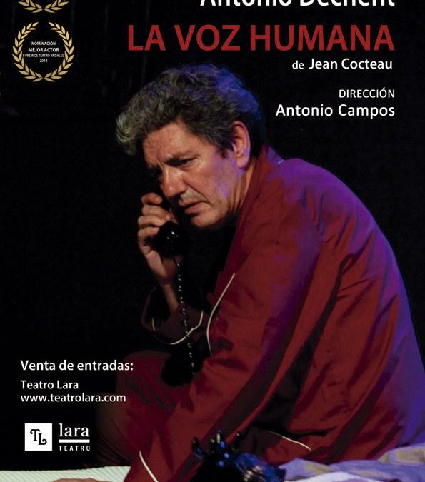 LA VOZ HUMANA en el Teatro Lara