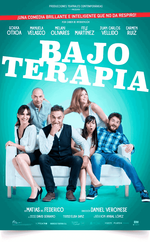 BAJO TERAPIA en el Teatro Marquina