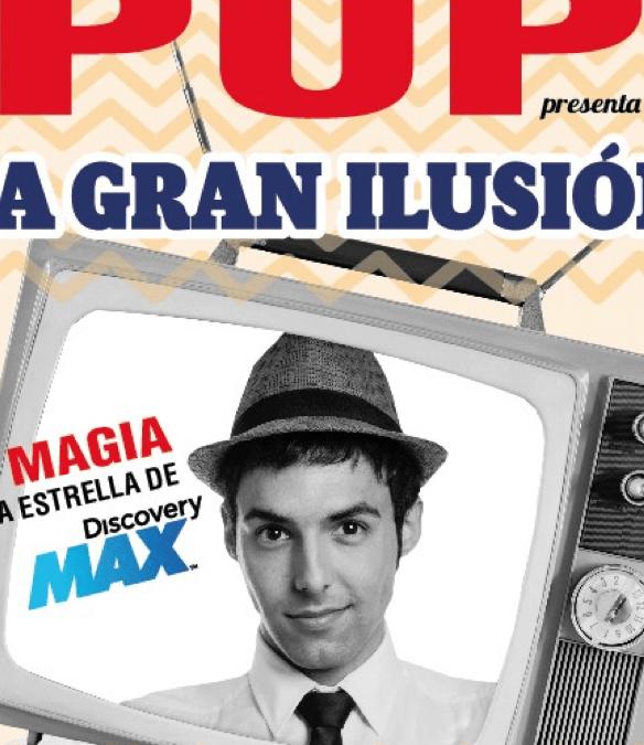 LA GRAN ILUSIÓN – El Mago Pop en el Teatro Rialto
