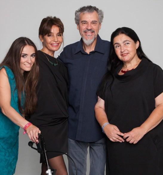 Actores y Blanca Marsillach. Foto ©Mateo Liébana