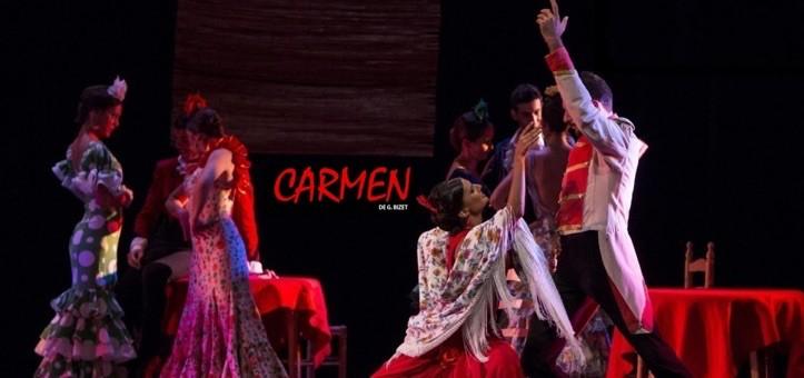 CARMEN DE BIZET - Ballet Flamenco de Madrid en el Teatro Reina Victoria