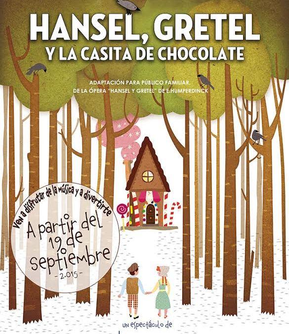 HANSEL GRETEL Y LA CASITA DE CHOCOLATE en el Teatro Bellas Artes