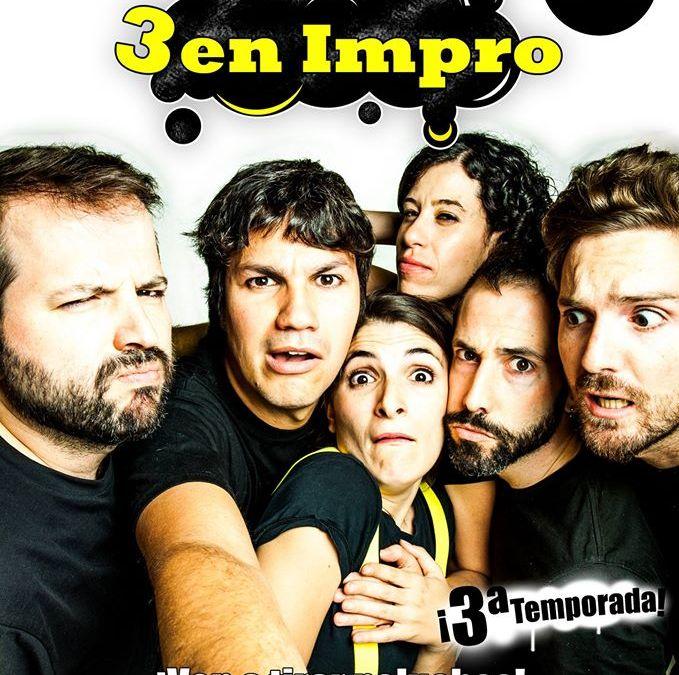 3 EN IMPRO en el Teatro Bellas Artes