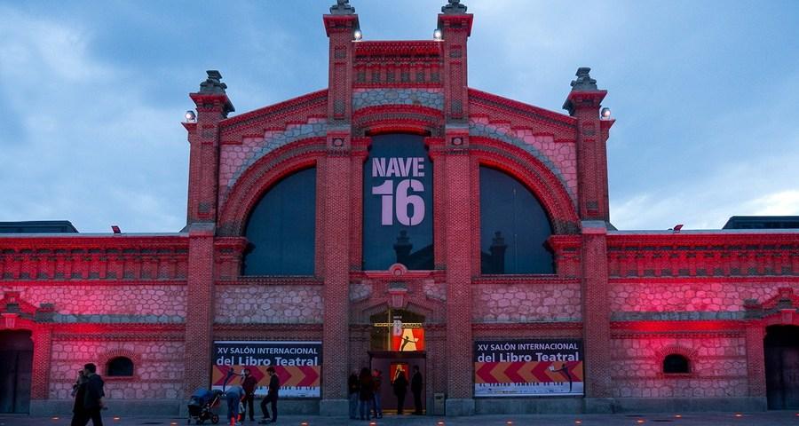 XVI SALÓN INTERNACIONAL DEL LIBRO TEATRAL. Matadero Madrid del 6 al 8 de noviembre