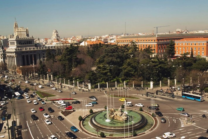 Mirador Madrid en CentroCentro Cibeles