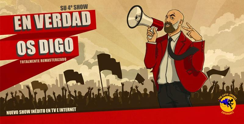 Goyo Jiménez: EN VERDAD OS DIGO en Madrid